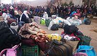 Hjelpen er fremme i sultrammede Madaya