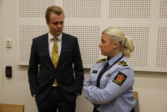 <p/> <p>PÅKJENNING: Bistandsadvokat Bendik Støen Thorsen sier saken er en enorm påkjenning for familien til den drepte kvinnen. Her står han sammen med politiadvokat Trine Hanssen i mandagens fengsling.</p>