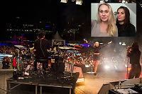 Vera (15) og Sienna (14) ble trakassert på festival i Stockholm: – Hva holder dere på med, slutt!