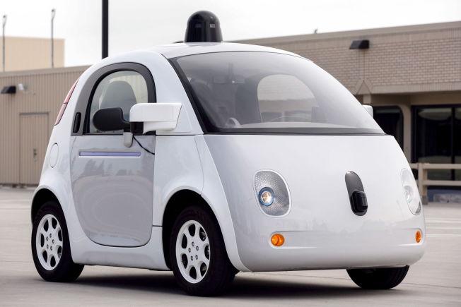 <p>SELVKJØRENDE?: Dette er en prototype på Googles nye selvkjørende bil som ble lansert i høst.</p>