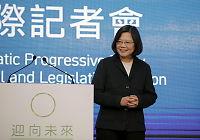 Taiwan får Kina-kritisk president