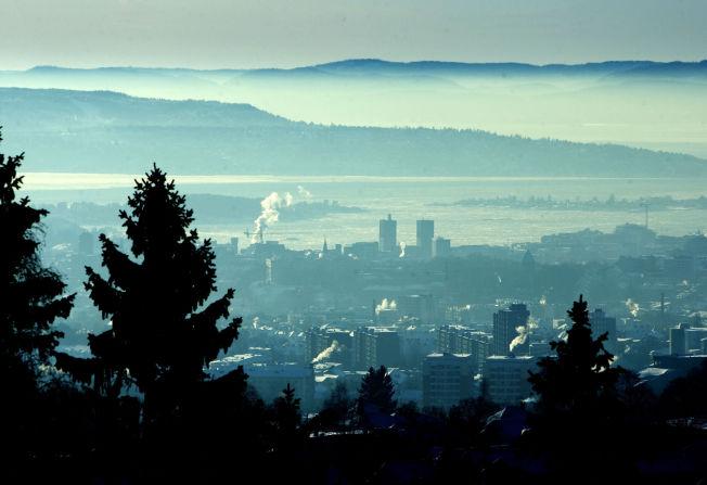 <p>BIKKJEKALDT: Kulda har bitt seg godt fast i Østlandsområdet, ikke minst i Oslo. Dette bildet ble tatt i 2010.</p>