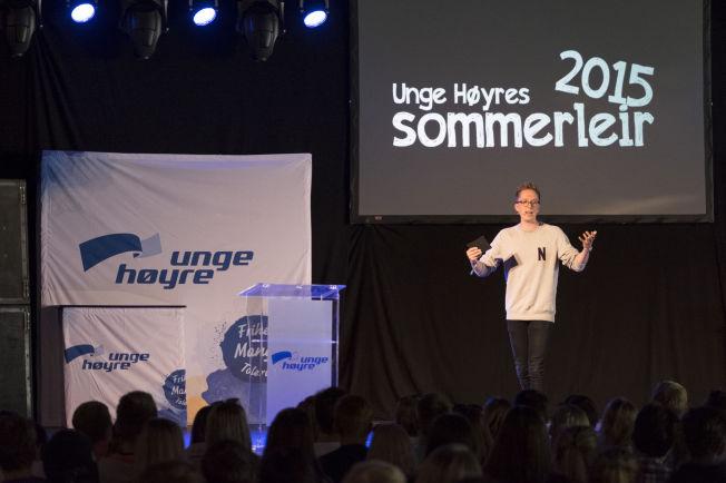 UTVIST: Unge Høyre-leder Kristian Tonning Riise.