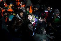 Langt flere flyktninger til Hellas nå enn i januar i fjor