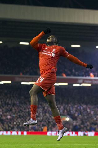 <p>LIVERPOOL-JUBEL: 18 år gamle Sheyi Ojo var godt fornøyd etter 2-0-scoringen og sitt første mål for Liverpool i omkampen mot Exeter.</p>