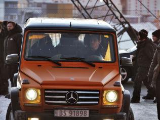 <p>VROOM VROOM: Irsk-tyske Fassbender pekte seg tidlig ut som favoritt til hovedrollen, og torsdag var han å se som Harry Hole i Oslo sentrum.<br/></p>