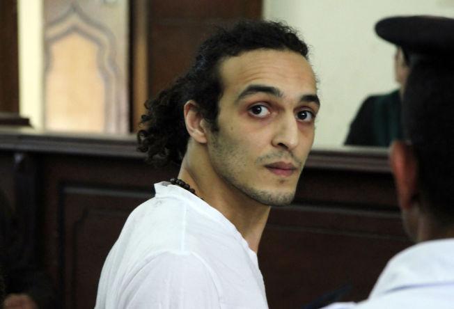 <p>FENGSLET FOR FOTOGRAFERING AV MASSAKRE: I mai i fjor møtte fotojournalisten  Mahmoud Abou Zeid i retten, etter å ha sittet over 600 dager i varetekt. Han ble fengslet da han jobbet som fotojournalist under en protestaksjon.</p>
