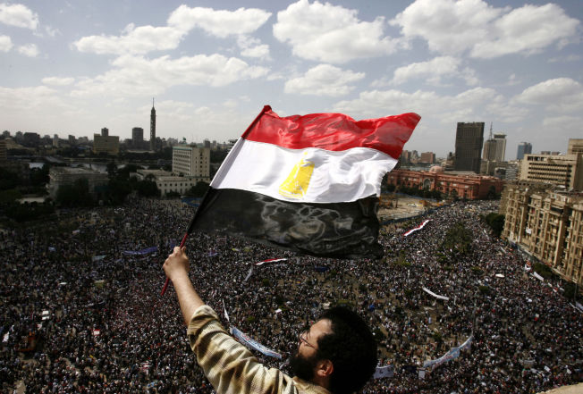 <p/> <p>KREVDE FRIHET: I 2011 krevde demostantene «brød, frihet og sosial rettferdighet». Fem år senere sies regimet å være mer autoritært, enn under tidligere president Hosni Mubarak.</p>