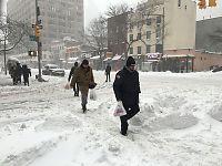 Snøstorm lammer USAs østkyst