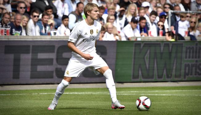 <p>VANT IGJEN: Castilla og Martin Ødegaard, her for Real Madrid mot Vålerenga i fjor sommer, har vunnet tre kamper på rad i Segunda B.</p>