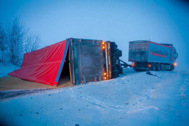 <p>VELTET: En person ble alvorlig skadet i en trafikkulykke i Aurskog-Høland i Akershus mandag morgen.<br/></p>