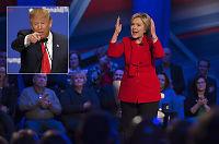 Clinton om Trumps retorikk:– Ikke bare skammelig og støtende, men også farlig