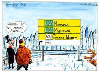 Frithjof Jacobsen: Norge kan la asylsøkere bli, i frykt for ny strøm til våren
