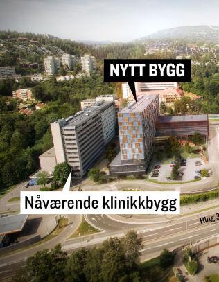 <p>RADIUMHOSPITALET: Dette er skissen til nytt kreftsykehus etter initiativ fra eiendomsutvikler Arthur Buckhardt og Akers konsernsjef Øyvind Eriksen.</p>