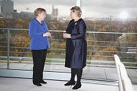 Solberg, Merkel og Cameron ber om dobling av Syria-bistand