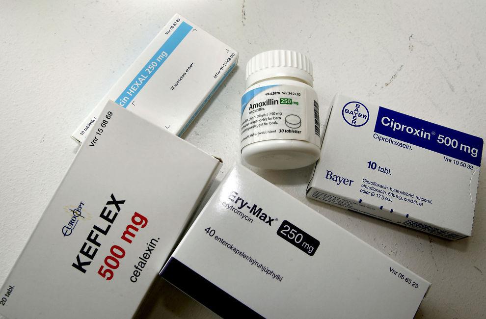 antibiotika mot gonorré
