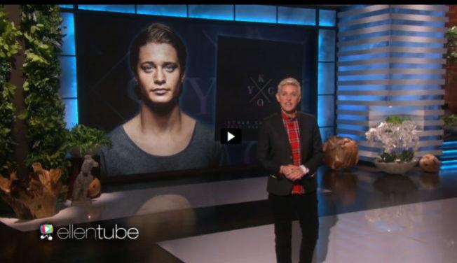 <p>I CELEBERT SELSKAP: Tidligere i år fikk talkshow-stjernen Ellen DeGeneres besøk av den norske 24-åringen Kyrre Gørvell-Dahl alias Kygo.</p>
