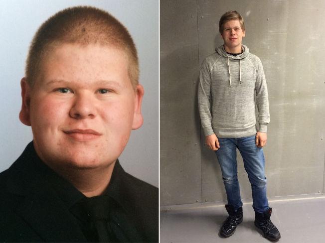 <p>FØR OG NÅ: Torbjørn Rivelsrud (17) fra Sandefjord er en av et økende antall norske barn som har slitt eller sliter med overvekt. Han fikk hjelp, og kvittet seg med 60 kilo på litt over ett år.</p>