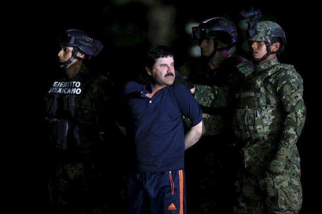 <p>TATT: Lederen for det mektige narkokartellet Sinaloa, Joaquín «El Chapo» Guzmán, ble tidligere i januar pågrepet i en dramatisk aksjon etter å ha fått betydelig hjelp fra USA.</p>