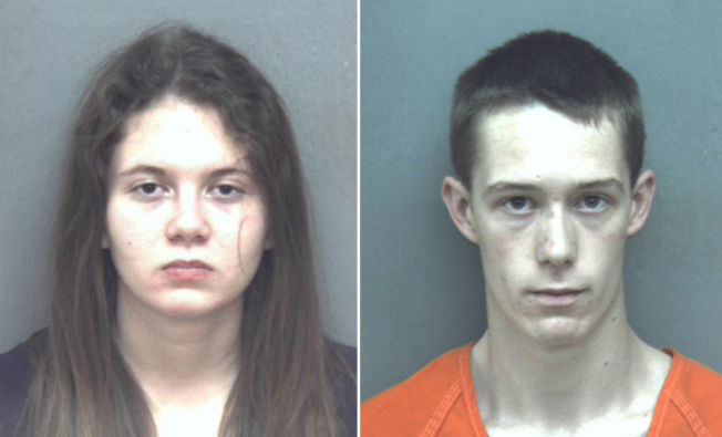 <p>PÅGREPET: Mens Natalie Keepers (19) er siktet for å ha hjulpet til å skjule liket, er David Eisenhauer (18) siktet for bortføring og drap.</p>