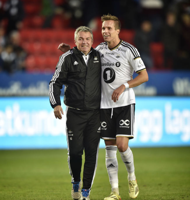 FREMTIDEN: Kåre Ingebrigtsen (til venstre) og Rosenborg sikret seg en erstatter for eventuelle salg av midtbanespillere allerede i fjor sommer da de hentet Anders Konradsen fra Rennes.