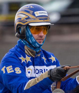 <p>TILBAKE: Tom Erik Solberg kjører sitt første travløp på snaut to uker på Bjerke onsdag.</p>