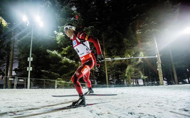 <p>LYS SUKSESS I TSJEKKIA: Ole Einar Bjørndalen på 20 kilometer individuell start under VM i skiskyting i Nove Mesto for tre år siden.</p>