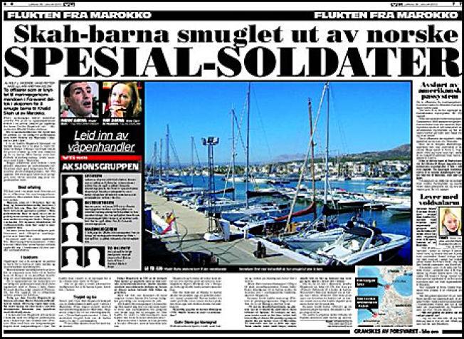<p>AVSLØRING: VG avslørte i 2010 at to offiserer knyttet til marinejegerkommandoen, deriblant nå avdøde Trond Bolle, deltok i aksjonen for å smugle barna til Khalid Skah ut av Marokko.</p>