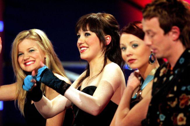 <p>GAMLE DAGER:«Idol» 2004. Fra venstre: Sandra Lyng, Margaret Berger, Susanne Nordbøe og Kjartan Salvesen. Foto: JAN PETTER LYNAU<br/></p>