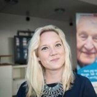<p>NYVALGT: Aina Stenersen ble valgt til ny leder i Oslo Frp i dag.</p>