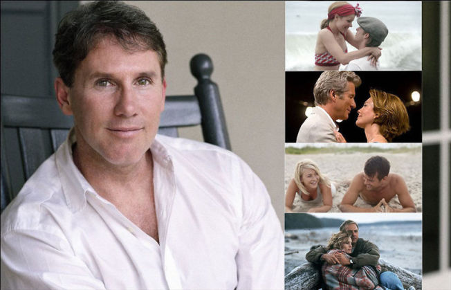 <p>MANNEN BAK: Nicholas Sparks får Hollywood-filmer av nesten alle romanene han skriver. «The Notebook», «Nights in Rodanthe», «Safe Haven» og «Message in a Bottle». NINA SUBIN og fra filmene</p>