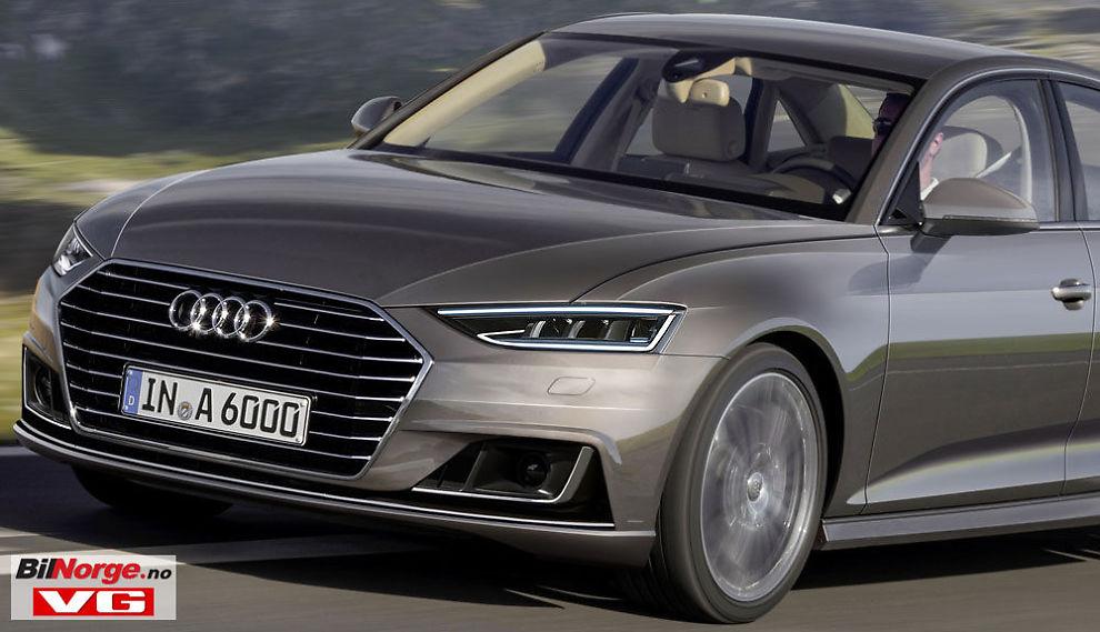 Ny Audi 6 kommer trolig i 2018 – kan bli slik - Nye biler - VG