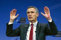 NATO-sjefen til Putin:  Krever bombestopp i Syria