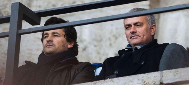 SÅ JARSTEIN: Jose Mourinho var sist helg på plass på kampen mellm Hertha Berlin og Borussia Dortmund.