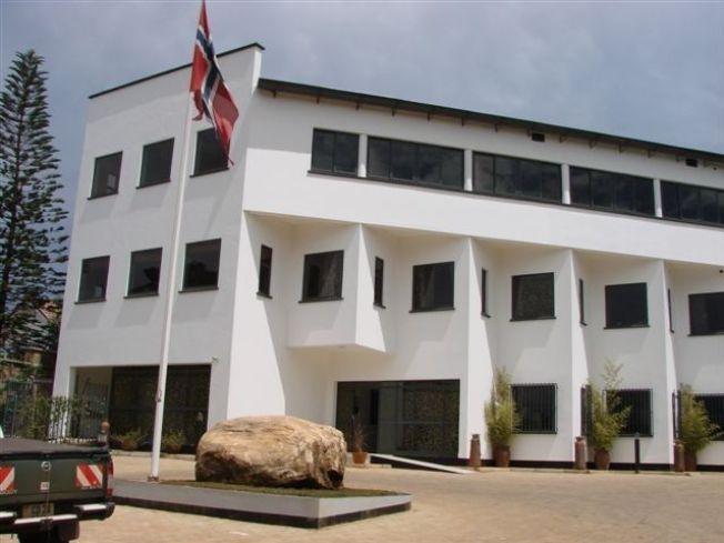 <p>LØY OM HIV-SYKE BARN: To lokalt ansatte ved Norges ambassade i Ugandas hovedstad Kampala ble avskjediget i fjor etter å ha svindlet ved bruk av falske kvitteringer.</p>