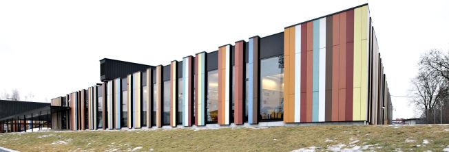 <p>PRIVATSKOLE: Oslo International School ligger like ved Stabæks hjemmebane, Nadderud stadion på Bekkestua i Bærum kommune.</p>
