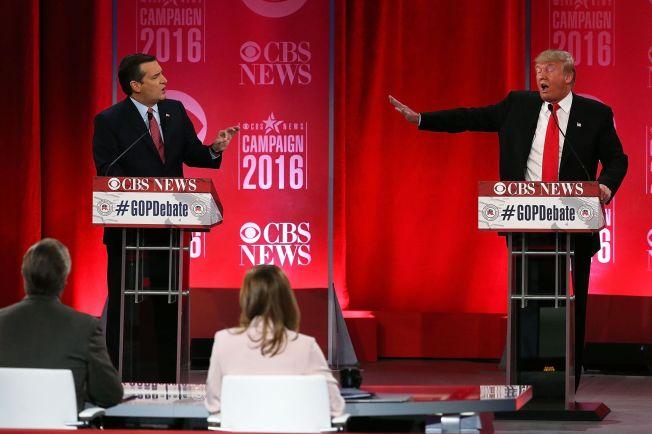 <p>PROVOSERTE: Senator Ted Cruz gjorde overraskende lite ut av seg i den siste debatten før republikanernes nominasjonsvalg i South Carolina, men yppet såpass at han ble kalt en «ekkel fyr» av Donald Trump.</p>