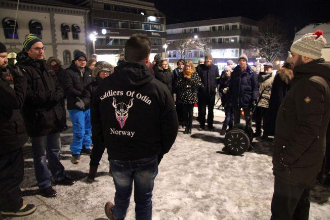 <p>ARGUMENTERTE: Ronny Alte forsøkteå forsvare hvorfor Soldiers of Odin skulle patruljere i byen, men fikk ikke gehør hos motaksjonistene fra SV og flere andre partier fra bystyret i Tønsberg.</p>