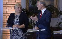 Støre og Solberg krangler om ledighet