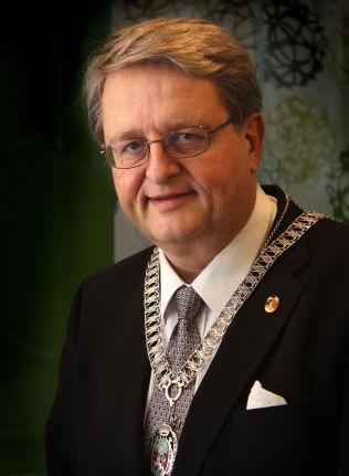 <p>STYRTE KRISTIANSAND. Tidligere ordfører i Kristiansand, Arvid Grundekjøn (H).</p>