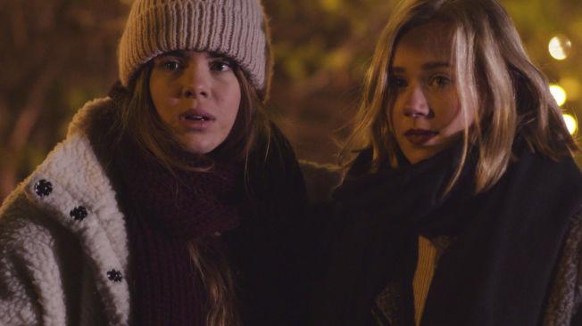 <p>HOVEDROLLENE: Eva (t.h) i sesong en og Noora i den kommende sesong to. Spilt av Lisa Teige og Josefine Frida Pettersen</p>