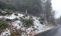 Nå snør det på Kanariøyene