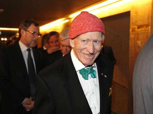 <p>PÅ FEST: Hotellkongen Olav Thon sto på gjestelisten da sentralbanksjefen inviterte på sin årlige middag på Grand Hotel i går.</p>