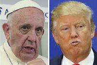 Trump:– Liker ikke å krangle med paven