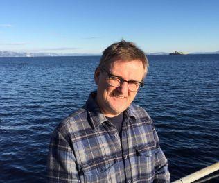 MARINBIOLOG: Geir Johnsen, professor ved NTNU.