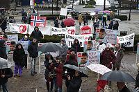 Demonstrerer mot norsk barnevern:– Påstandene er helt vanvittige