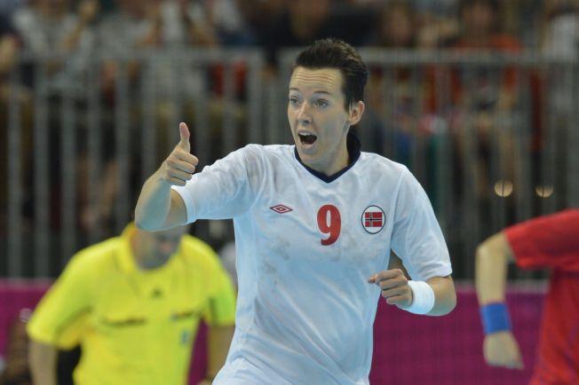 VINNER OGSÅ SOM TRENER: Kristine Lunde Borgersen, her fra OL i London i 2012, ledet Vipers Kristiansand til seier i europacupen lørdag kveld.
