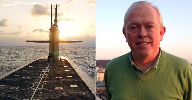 <p>UTELUKKER: Forsker Bjørn Olav Knutsen mener det er utenkelig at Nato kan droppe atomvåpen. Til venstre er den amerikanske atomubåten USS Wyoming.</p>
