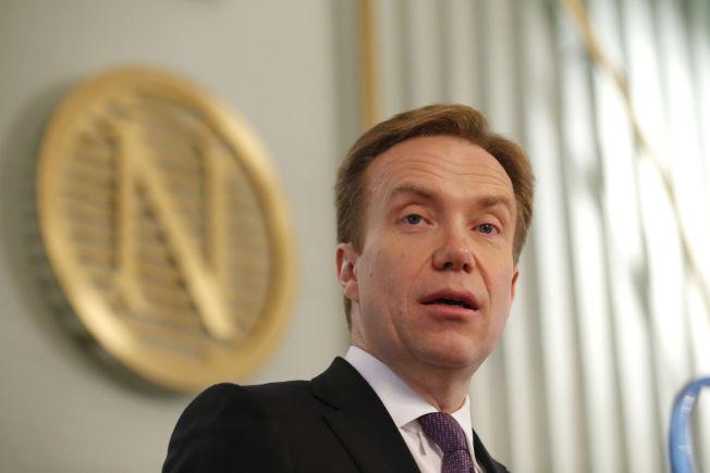<p>FRYKTER AP-FORSLAGET: Utenriksminister Børge Brende.</p>