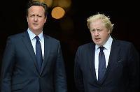 Cameron gjør narr av London-ordførerens nei til EU